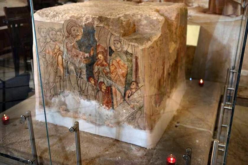 Betfagé, Tierra Santa - un santuario bizantino en el lugar donde Jesús se encontró con Marta 3