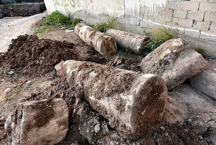 Objetivo: salvar los restos de una iglesia bizantina hallados en Gaza al acondicionar una plaza 1
