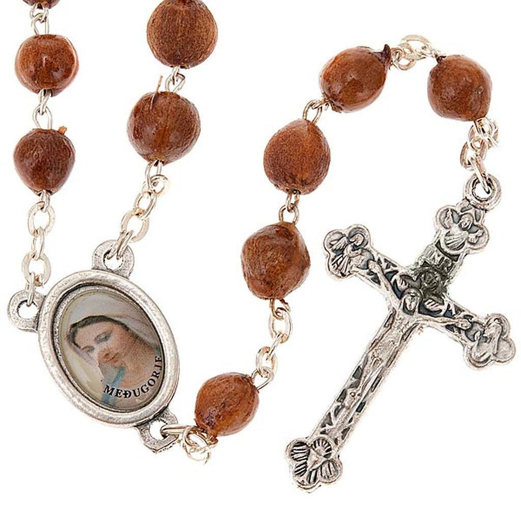 Peregrinaci n a medjugorje 7 la virgen y el rosario rel for Como limpiar un rosario de plata