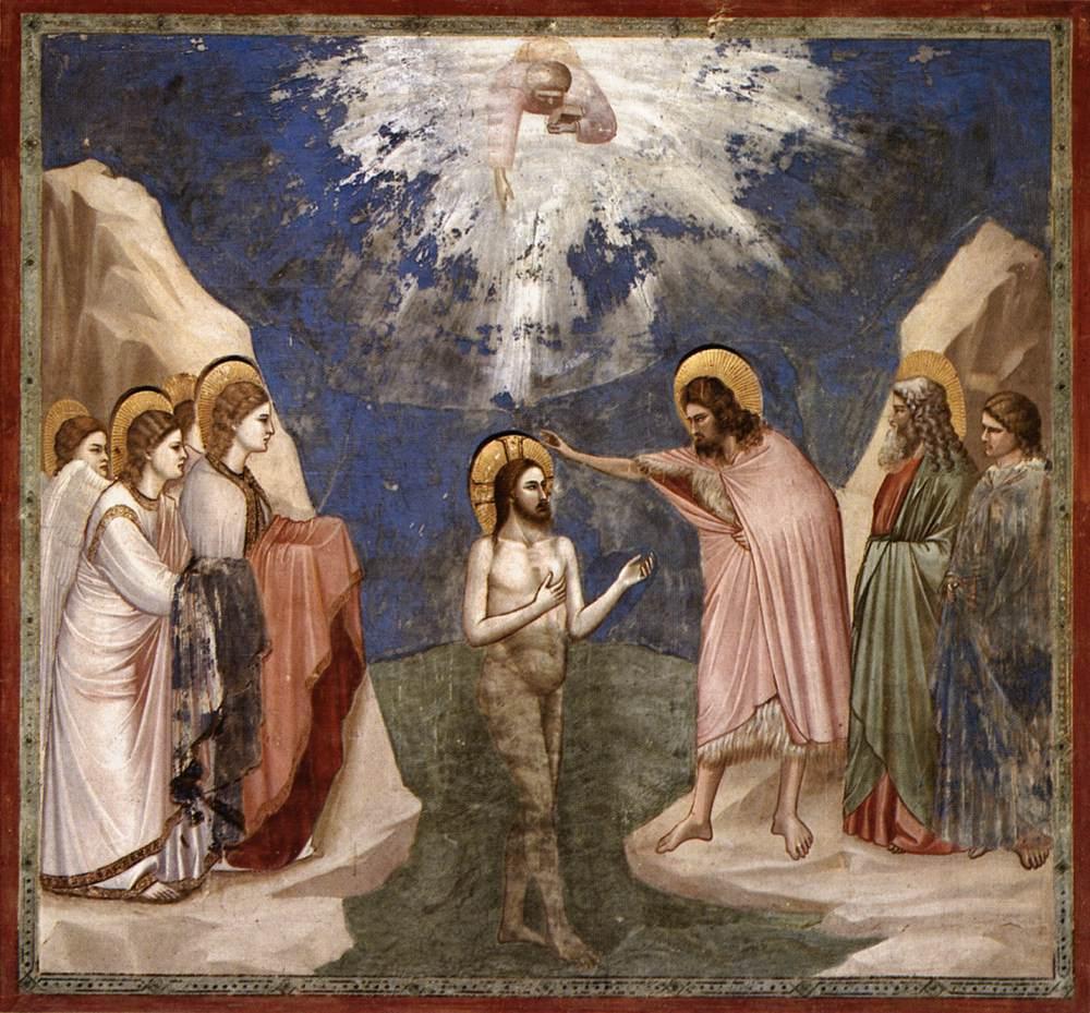 De la fiesta del bautismo de jesús que hemos celebrado ayer
