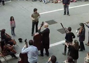 flashmob, iglesia católica, , Un flashmob sinfónico con sabor a Iglesia Católica