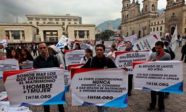 Al senado de Colombia no le impresionan Francia ni Nueva Zelanda y vota no al matrimonio gay 2