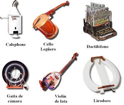 Humor m sica y espect culo ritmos21 for Instrumentos de cocina profesional