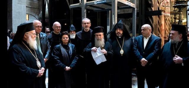 Santo Sepulcro - El edículo que protege la tumba de Cristo será restaurado por primera vez en dos siglos 1