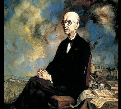 Retrato de Manuel de Falla (Ignacio Zuloaga, 1925)