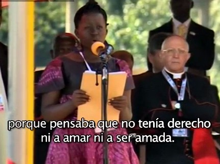 papa francisco uganda winnie